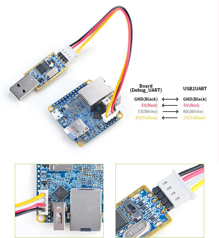 Matrix-USB2UART_nanopi_NEO